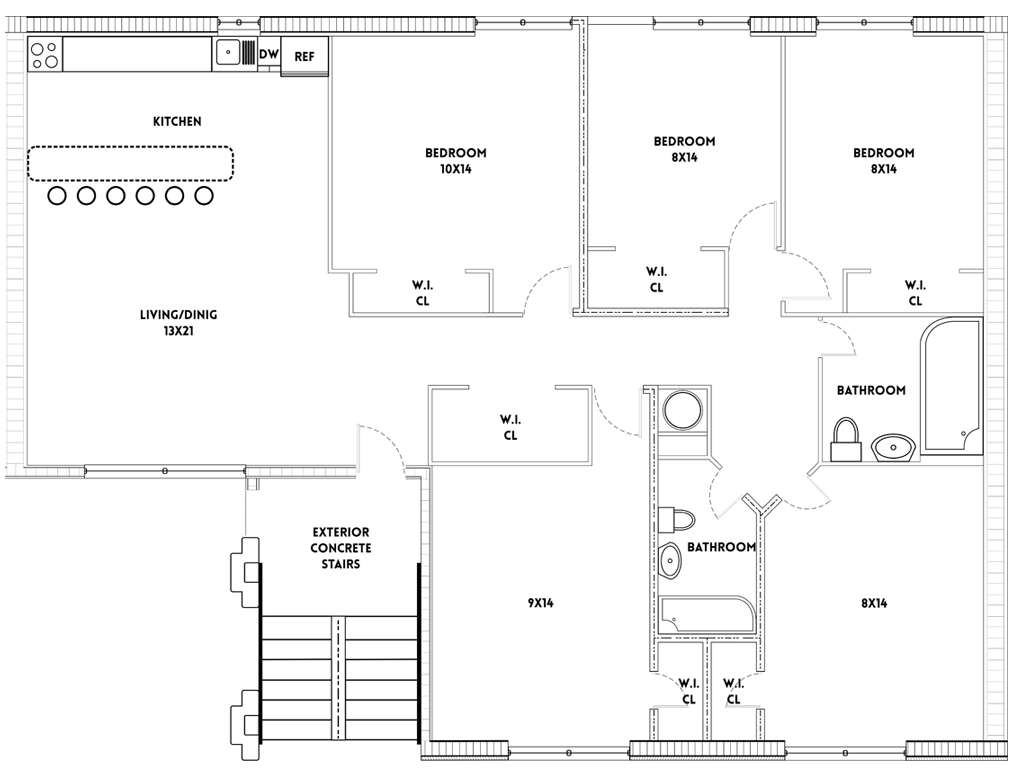 Rose Hill Houses Floor Plans